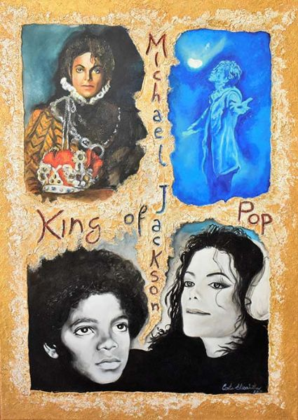 Michael Jackson king of the pop di Conte Elisabetta